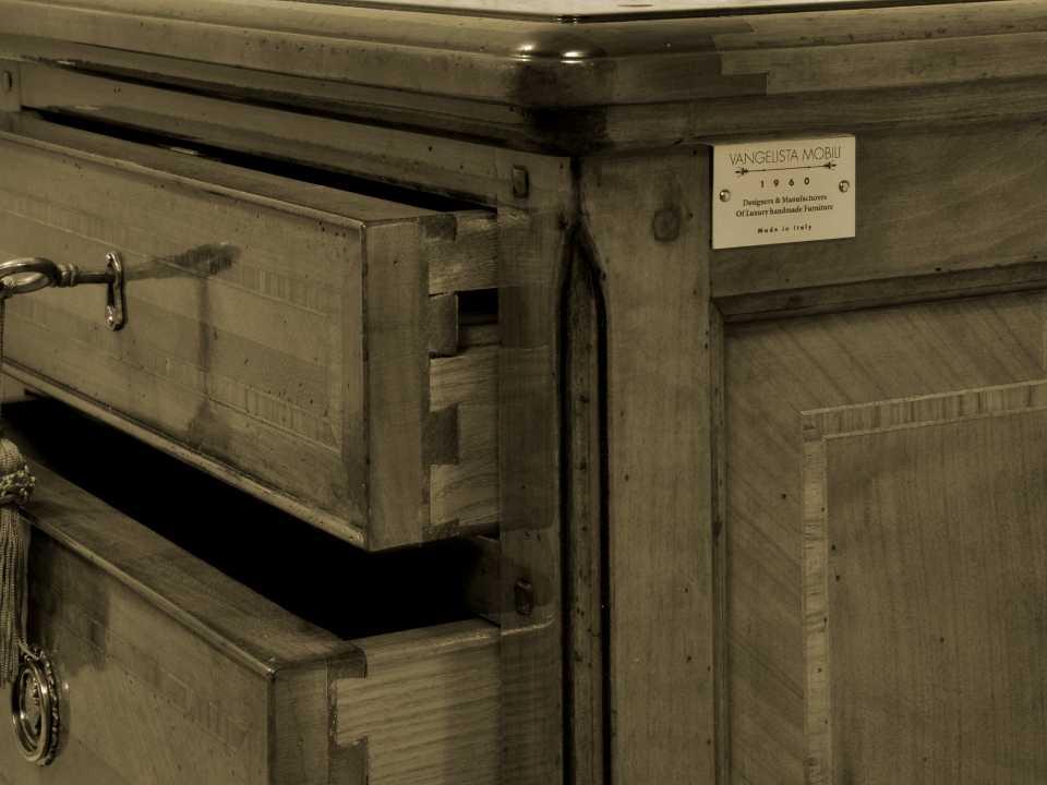 Mobili di prestigio in stile classico creati pi sapienti for Produttori mobili veneto