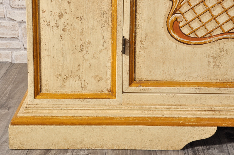armadio con decorazioni di altissima qualità in stile luigi XV veneziano pittura fatta a mano armadio 2 ante veneziano su misura