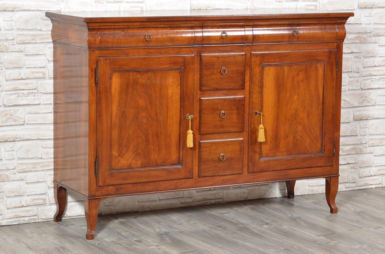 Raffinata credenza di lusso in legno di noce massello 3 for Mobili 6 cassetti
