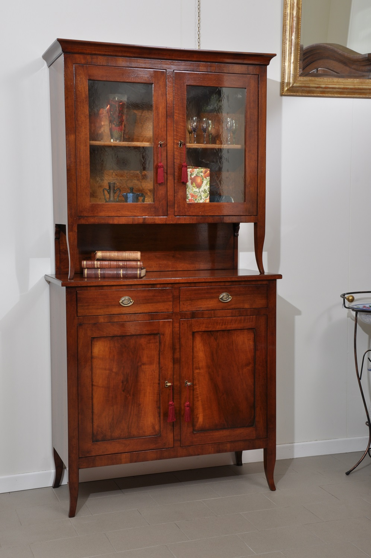 Credenza con alzata riprodotta in stile classico asolano veneto mobili vangelista - Fabbriche di mobili in veneto ...