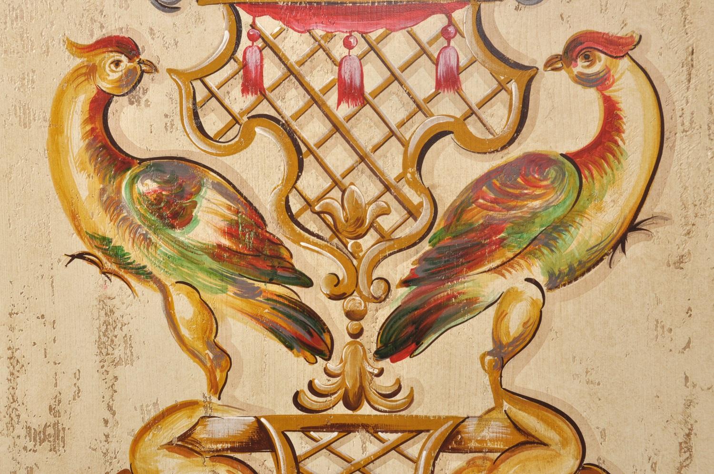 pregiata decorazione armadio 2 ante di lusso in stile veneziano luigi xv