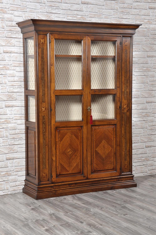 libreria-lussuosa-intarsiata-2-ante-chiuse-sotto-in-stile-seicento-toscano