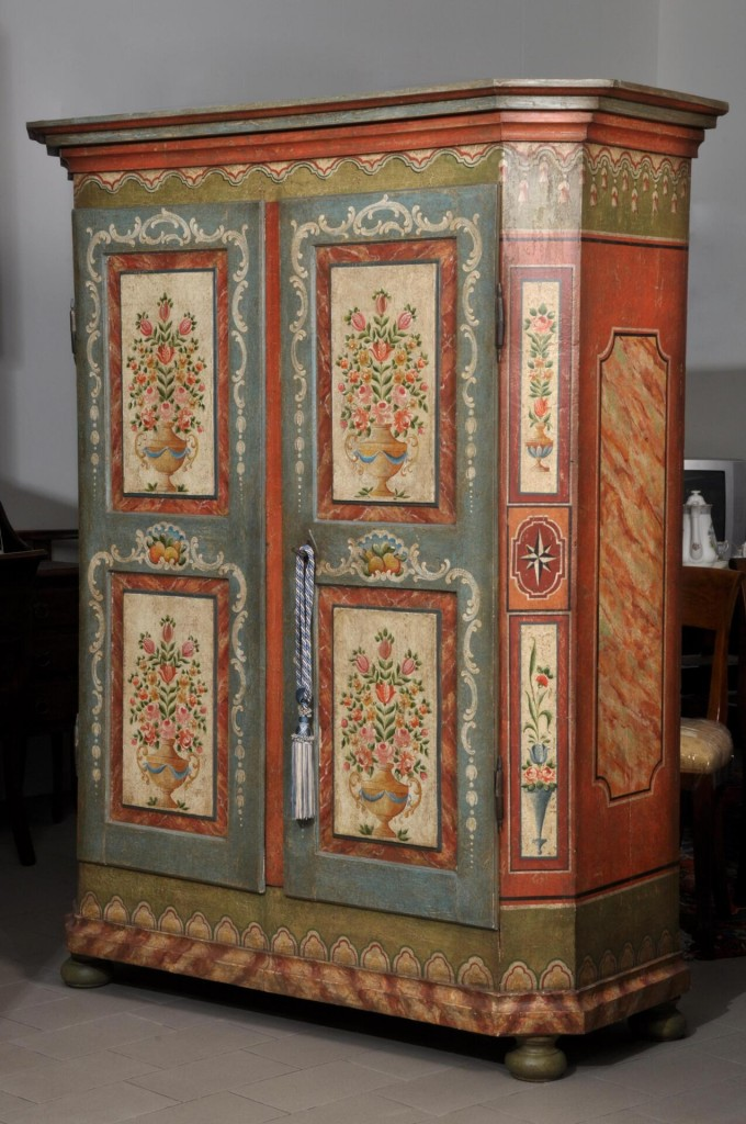 Preferenza Armadi decorati tirolesi e veneziani Archivi | Mobili Vangelista RI58