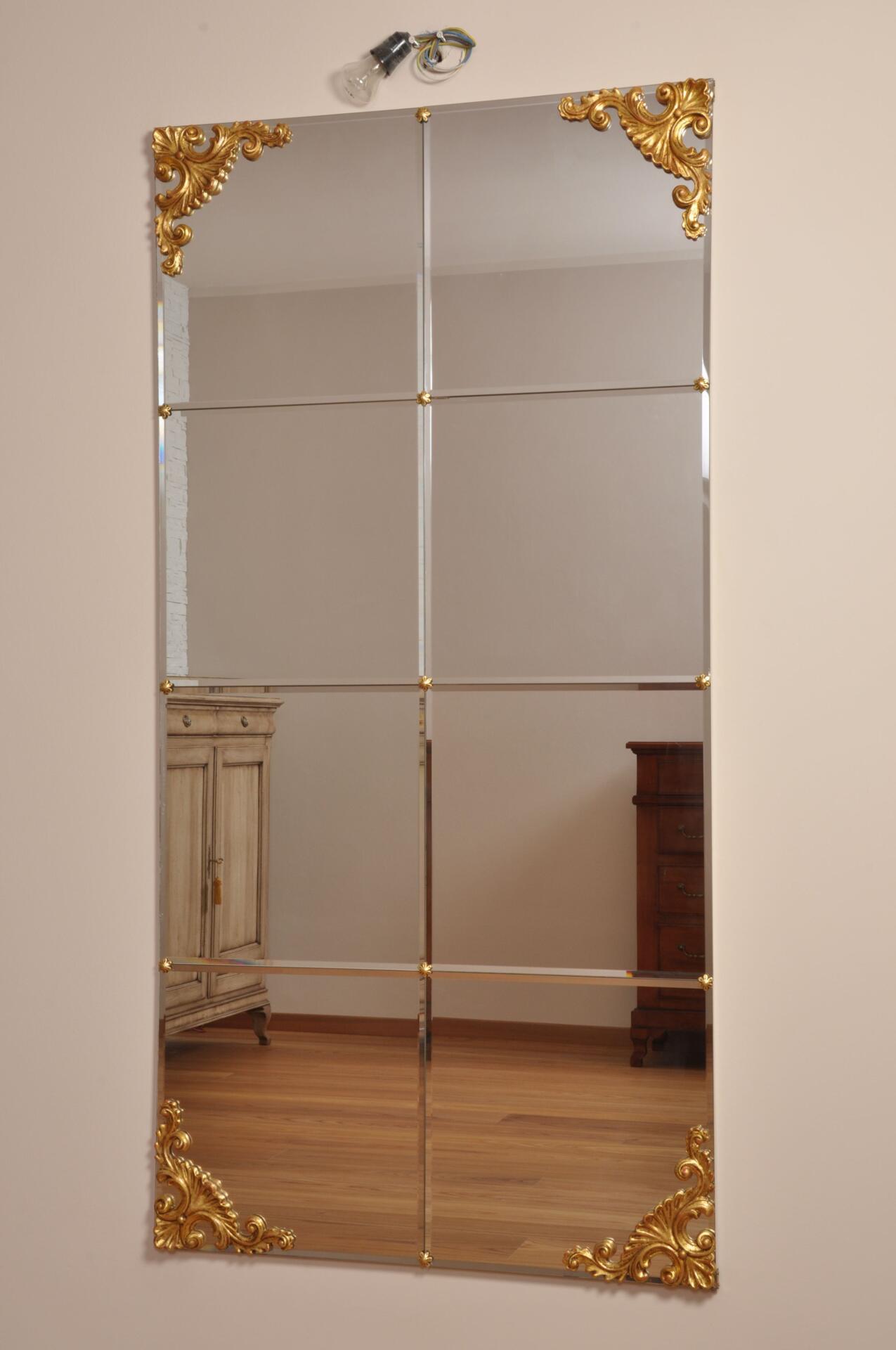 Ricercata specchiera in stile barocco veneziano mobili - Mobili stile barocco veneziano ...