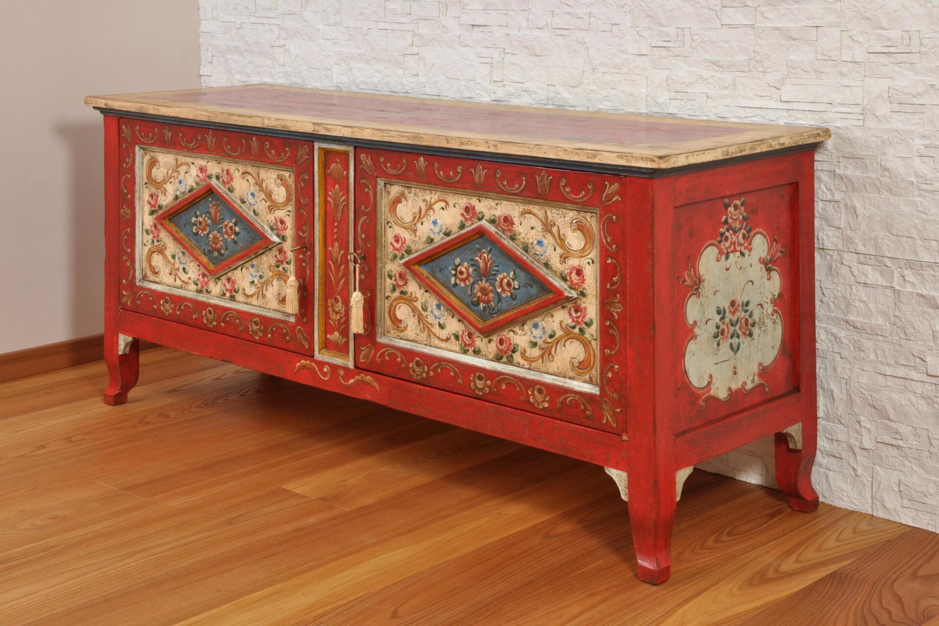 Cassapanche e porta tv archivi mobili vangelista - Cassapanca decorata ...
