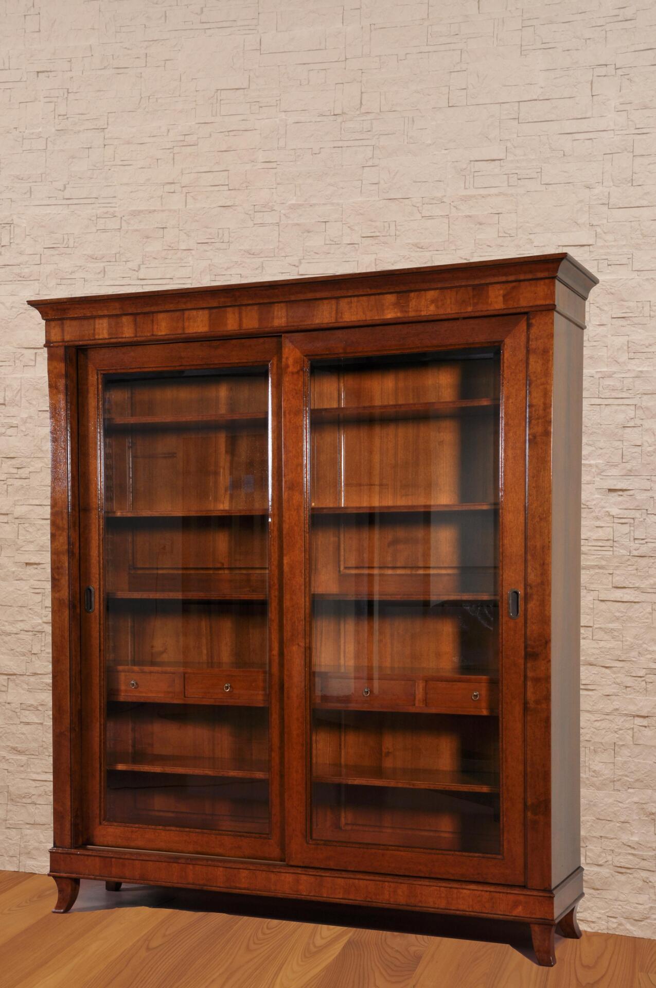 Libreria classica costruita su misura in stile direttorio - Mobili libreria classica ...