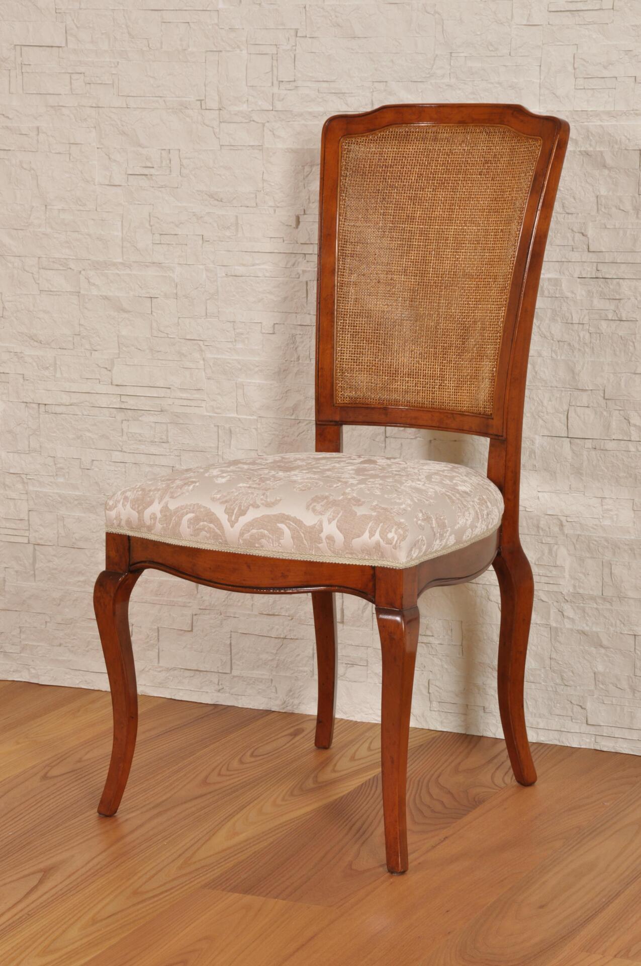 Sedia in legno pregiato di ciliegio in stile Provenzale | Mobili ...