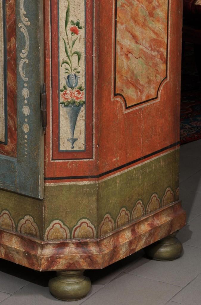 armadio di lusso con decorazioni made in italy scantonato ...