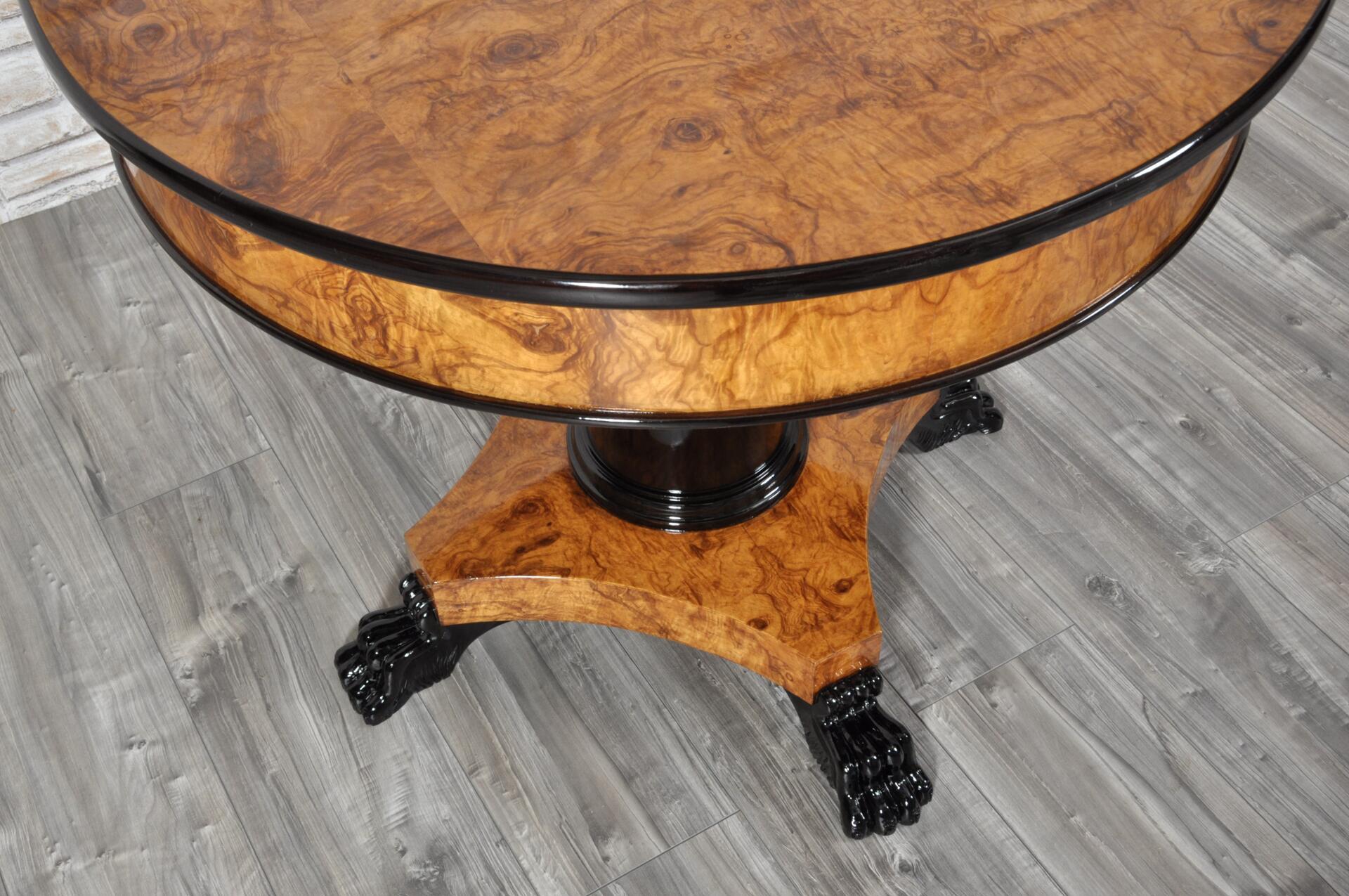 Tavoli archivi mobili vangelista for Tavolo rotondo nero