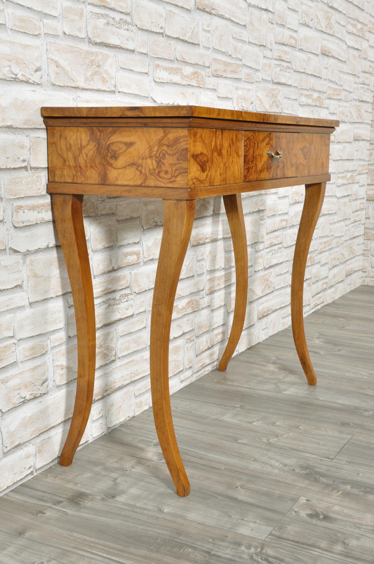 Elegante consolle di lusso da ingresso riprodotta in stile primo impero veneto mobili vangelista - Fabbriche di mobili in veneto ...