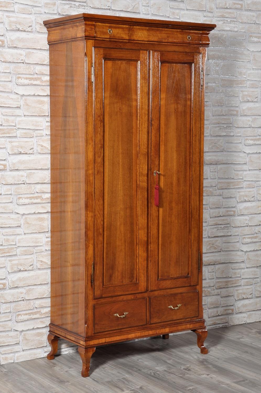 Armadio dispensa di lusso a 2 ante in legno di noce for Dispensa legno