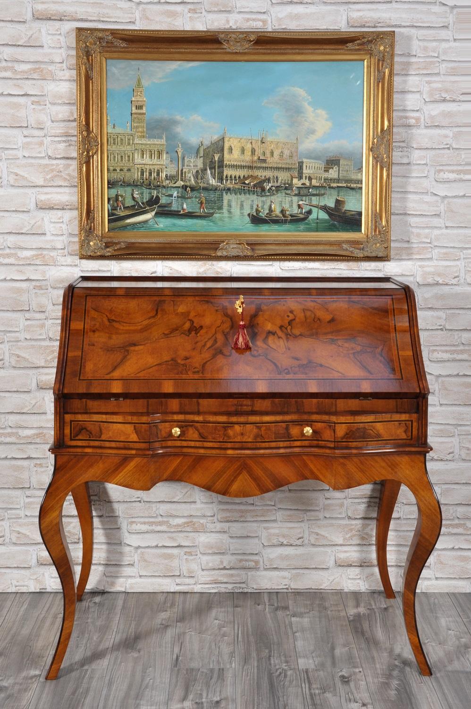 Ribalta bureau sagomata costruita a mano in stile - Mobili stile veneziano ...