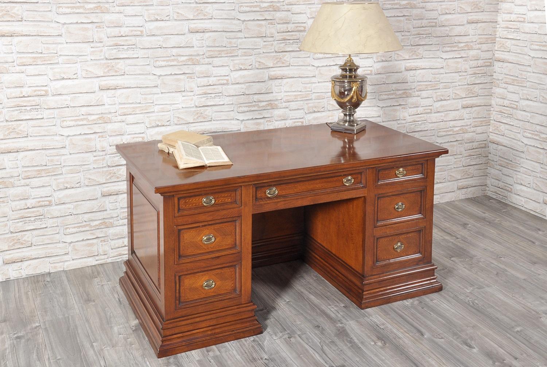 Beautiful scrivania da centro a cassetti costruita in - Mobili stile toscano ...