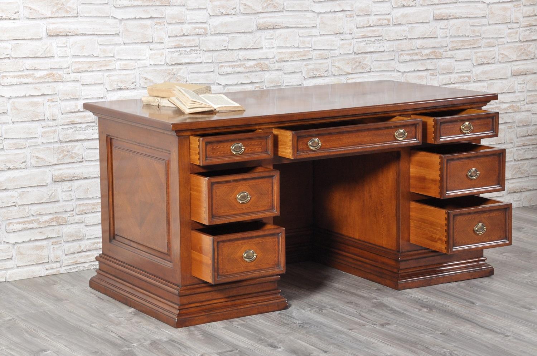 scrivania intarsiata di lusso stile classico 39 600 toscano