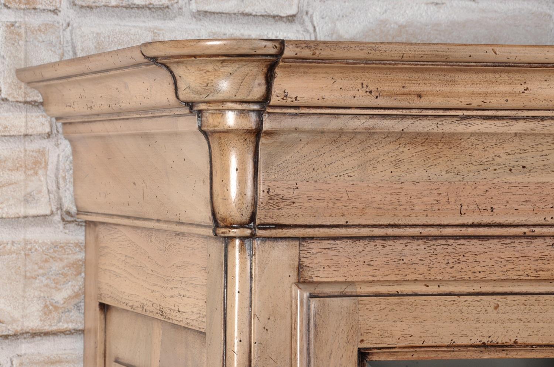Vetrina libreria di lusso di produzione made in italy for Costruire una casa in stile vittoriano