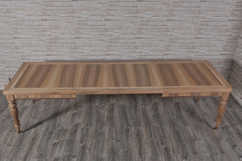 Tavoli Da Pranzo Grandi Dimensioni.Tavolo Allungabile Rettangolare Con Manovella A Scorrimento