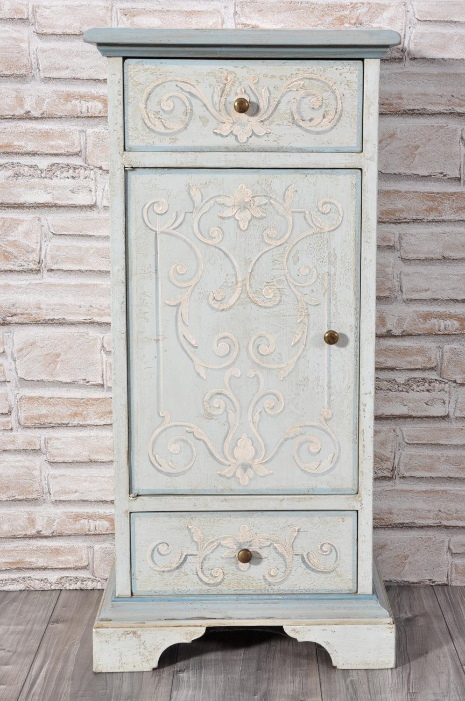 Pregiata colonna rettangolare decorata a mano in stile - Mobili in stile barocco ...