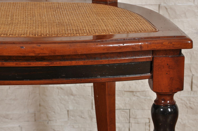 produzione sedie con gambe tornite in legno di ciliegio ...