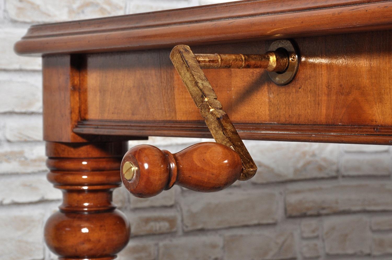 Tavolo inglese vittoriano rettangolare allungabile mobili vangelista - Mobili stile vittoriano ...