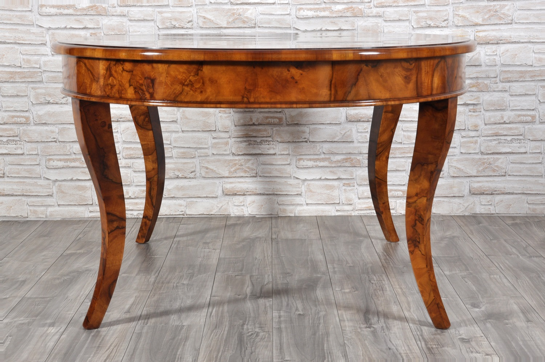 Gambe A Sciabola Per Tavoli.Sumptuous Big Inlaid Table