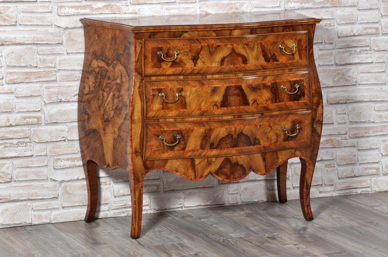 Mobili barocco veneziano coppia di cassapanche in legno - Mobili stile veneziano ...
