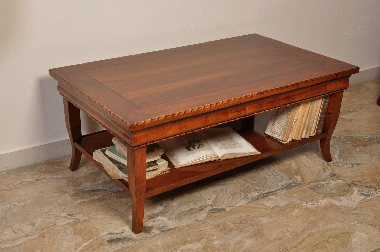 Tavolino da salotto intarsiato in stile classico Asolano Veneto ...