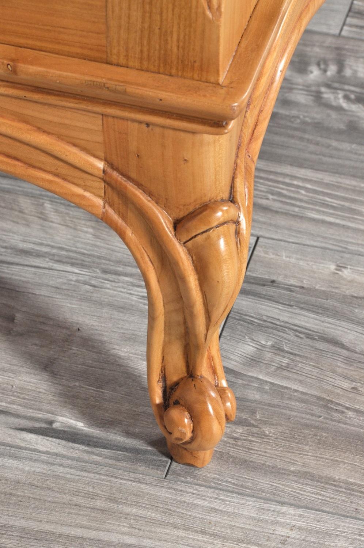 Com provenzale prodotto in legno di ciliegio massello con for Progettazione di mobili lavorazione del legno