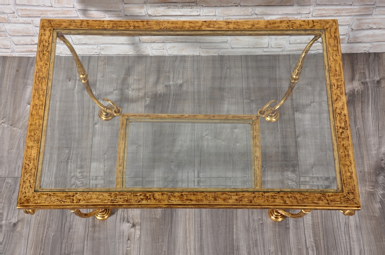 Pregiato tavolo da salotto in stile luigi xiv costruito in for Piani del giroletto in stile missione
