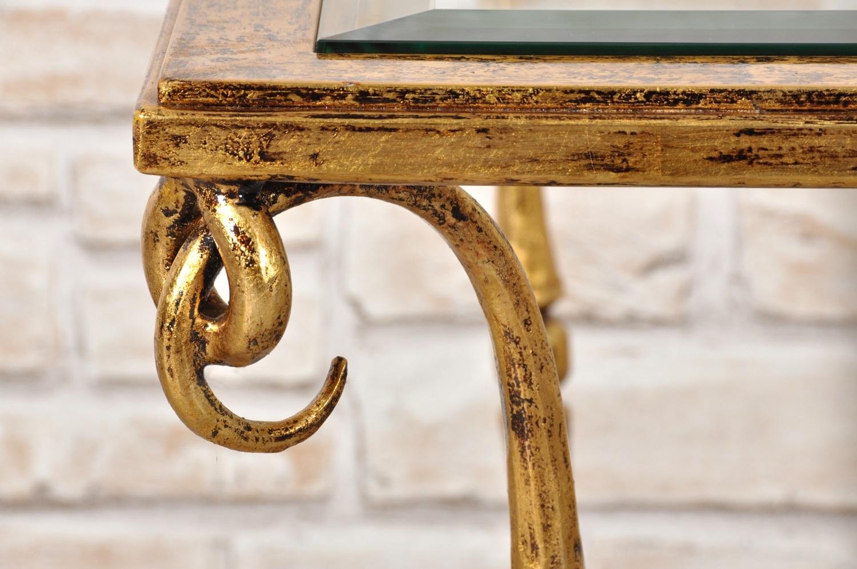 Tavolino Salotto Ferro Battuto.Pregiato Tavolo Da Salotto In Stile Luigi Xiv Costruito In Ferro