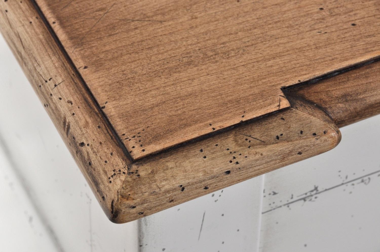 Credenza laccata bicolore riproducibile su misura stile for Piano di costruzione in legno soppalco