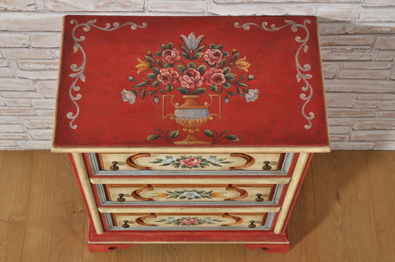 Armadi Tirolesi Dipinti mobili tirolesi dipinti a mano | mobili vangelista