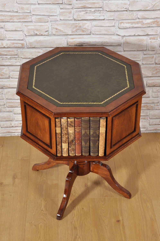 Libreria di lusso girevole ottagonale prodotta su misura for Piani di libreria stile artigiano