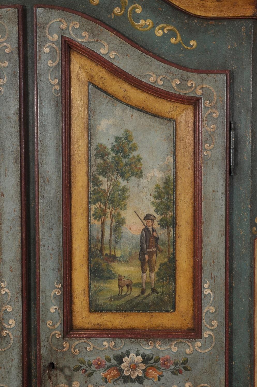 Armadio di lusso decorato a mano in stile 39 700 barocco for Ante a serrandina su misura